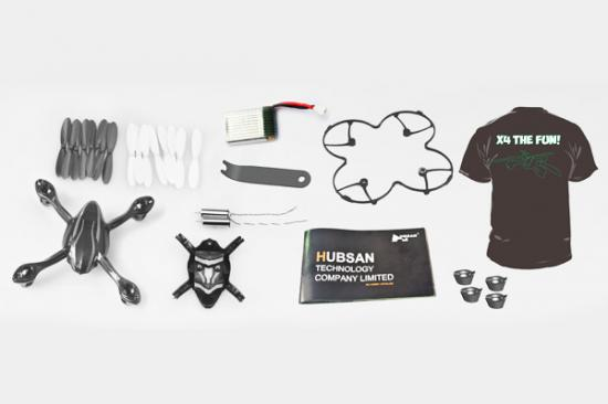 Hubsan X4 Value Crash Pack With T Shirt - Size XL