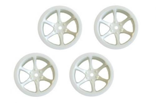 Hyper Mini ST 6-Spoke Wheel Set White (4)