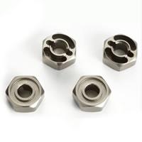 Hobao Gpx4 Aluminium Wheel Hex Hubs (4)