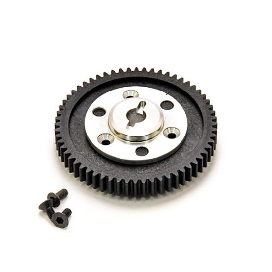 Hobao Epx Transmission Gear With CNC Aluminum Gear Mount