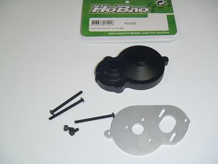Hobao H2 Motor Mount + Cover