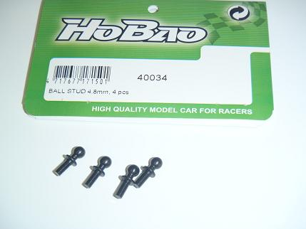 Hobao H2 Ball Stud 4.8mm (4)