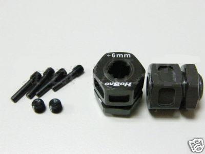Hyper ST Wheel Hub Set +6mm (1 pair)