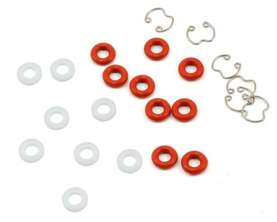 Hobao Hyper 7/8 3.5mm Shock Seals - Circlips And Guides