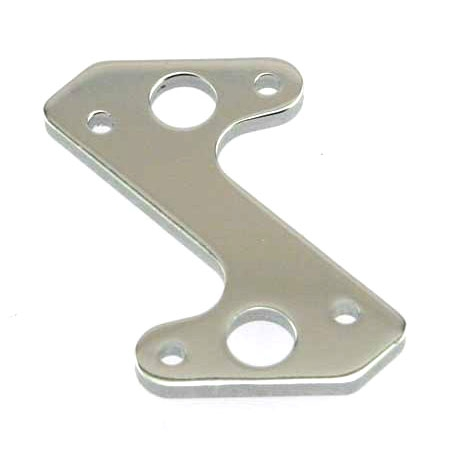 Hyper 8 Centre Diff Plate Chrome (RTR)