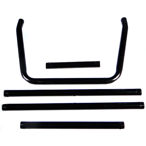 Hobao Hyper Front/Middle Cage Tube (Black)