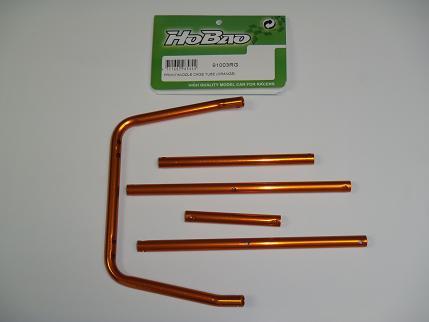 Hobao Hyper Front/Middle Cage Tube (Orange)