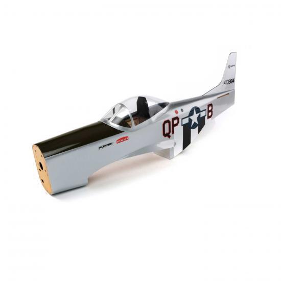 Fuse w/ Fin: P-51 8CC
