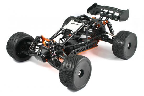 Hobao Hyper Cage Truggy - Electric Rolling Chassis