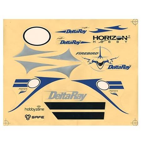 Firebird DeltaRay Decal Set