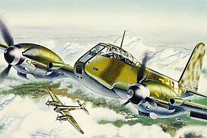 Italeri Me-410 Hornisse