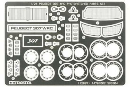 Tamiya 1/24 Peugeot 307 Wrc Etched Parts