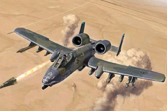 Italeri A-10 Gulf War