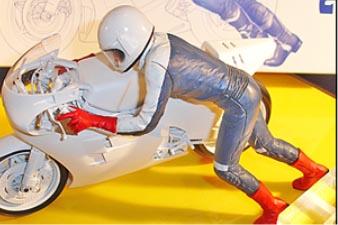 Tamiya 1/12 Starting Rider (2013)