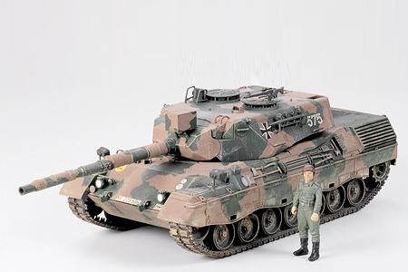 Tamiya West German Leopard A4
