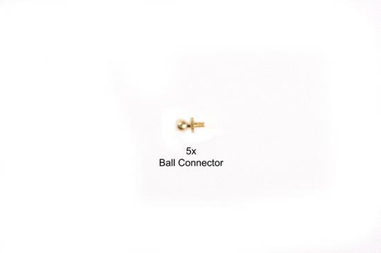 Tamiya 4mm Ball Connector *5 Ba16