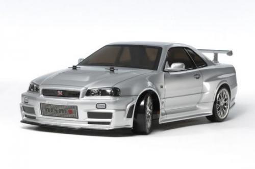 Tamiya Skyline GT-R R34 Z-tune Clear Bodyshell - 190mm