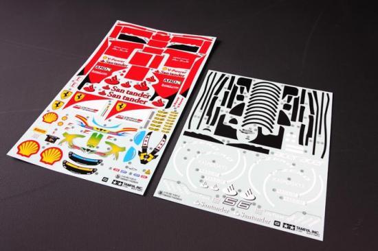 Tamiya F2012 Sticker Set