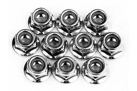 Tamiya 4mm Alumi. F. Lock Nut