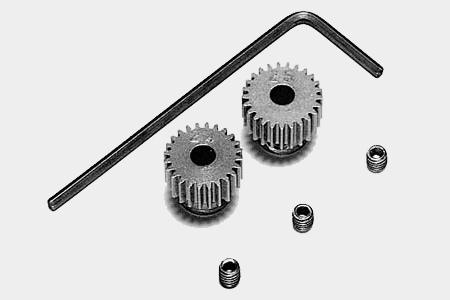 Tamiya 0.4 Pinion Gear (24/25T)