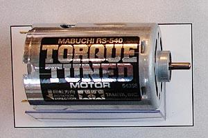 Tamiya RS-540 Torque Tuned Motor 25T