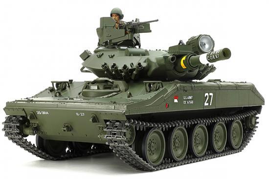 Tamiya M551 Sheridan With Option Kit