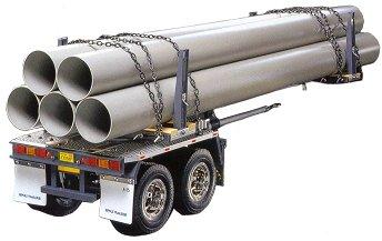 Tamiya Pole Trailer for Tamiya Tractor Units