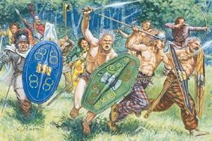Italeri Gaul Warriors 1St-2Nd Cty B.C. C