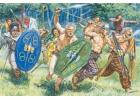 Italeri Gaul Warriors 1St-2Nd Cty B.C. C