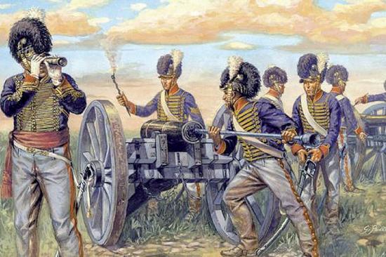 Italeri Napoleonic Wars Brit Artillery
