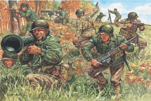 Italeri Wwii Us Infantry Jun
