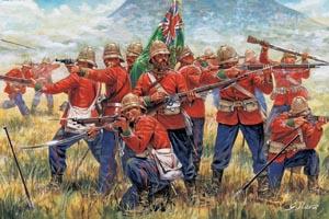 Italeri Zulu War-Brit Infantry