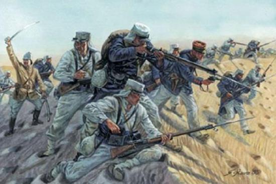 Italeri French Foreign Legion