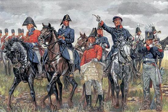 Italeri British Prussian All.Gen.Staff