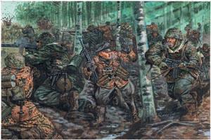 Italeri 1/72 German Elite Troops Wwii