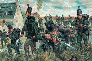 Italeri 1/72 Nap Wars British Green Jackets