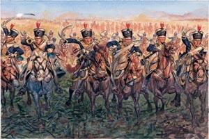 Italeri 1/72 Napol Wars Brt Light Cav 1815