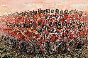 Italeri 1/72 Napol Wars Brit Inf 1815