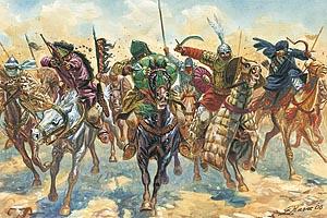 Italeri 1/72 Medieval Era Arab Warriors