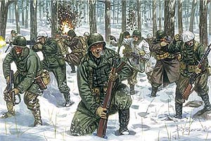 Italeri Wwii Us Infantry (Winter Uniform)
