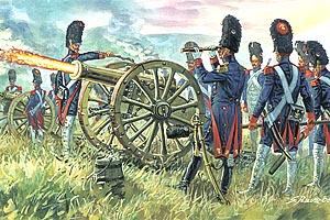 Italeri Napoleonic French Imp Guard Artill