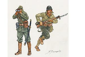 Italeri Ww11 Japanase Infantry