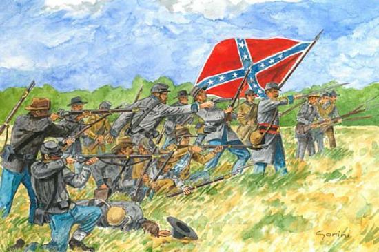 Italeri Confederate Inf(Amer Civil War)