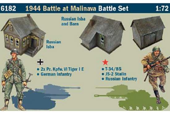 Italeri 1944 Battle At Malinava