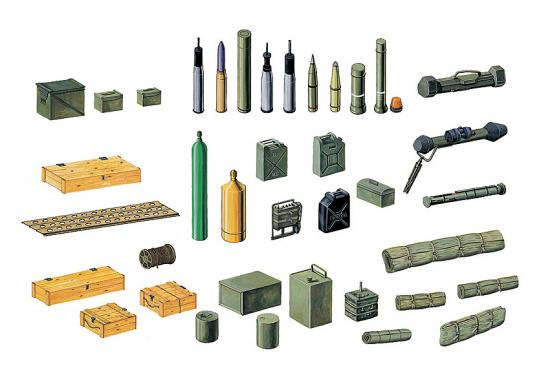 Italeri Modern Battle Accessories