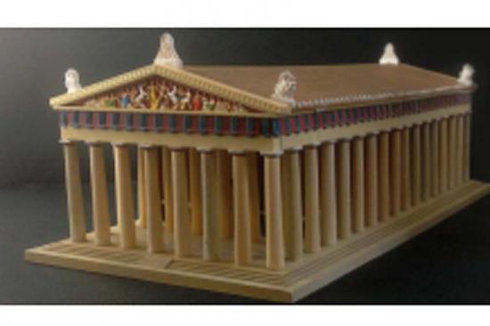 Italeri Parthenon-World Famous Monuments