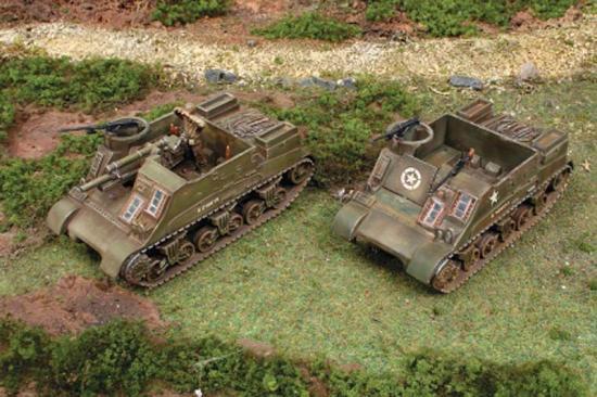 Italeri M7 Priest 105mm Howitzer Motor