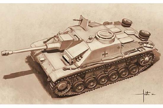 Italeri Sd.Kfz. 142/1 Sturmgesschuetz 111