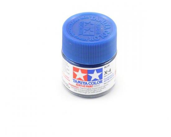 Tamiya Acrylic Mini Paints X-4 Blue