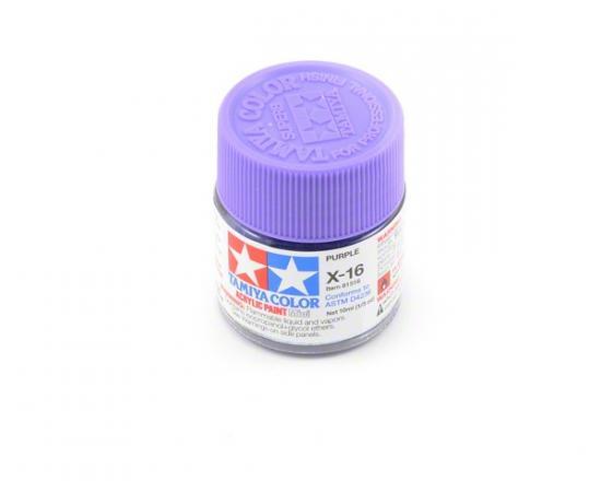 Tamiya Acrylic Mini Paints X-16 Purple